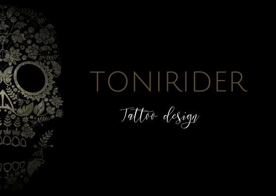 ToniRider Tatto design